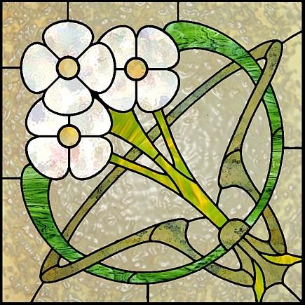 85 Simple Art Nouveau Patterns