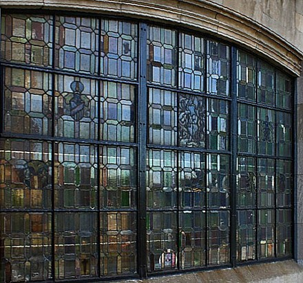 Tudor Windows create an architectural style with stained glass